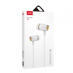 UWO Half-in earphone with wire control