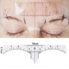 Disposable Tattoo Eyebrow Positioning Ruler
